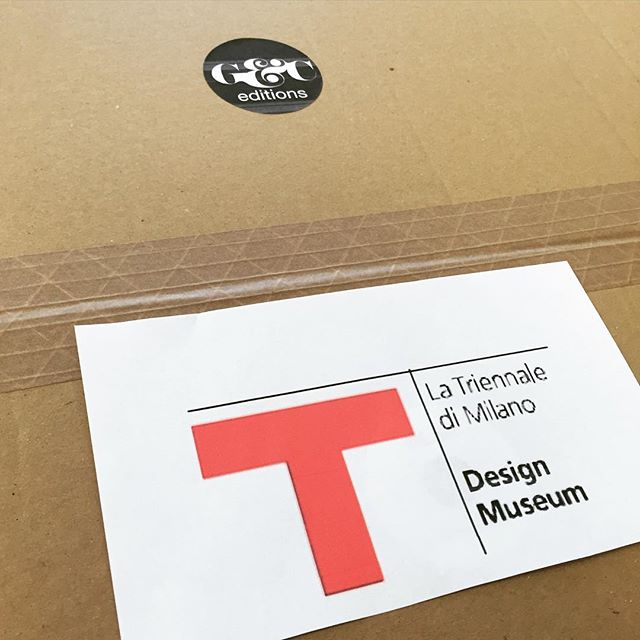 Ready to go!!! Our lamps will be part of the IX edition of Design Museum curated by Silvana Annichiarico! Thank you Triennale... We are honored! @latriennale