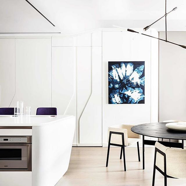 Giopato coombes for Zaha hadid new york apartment