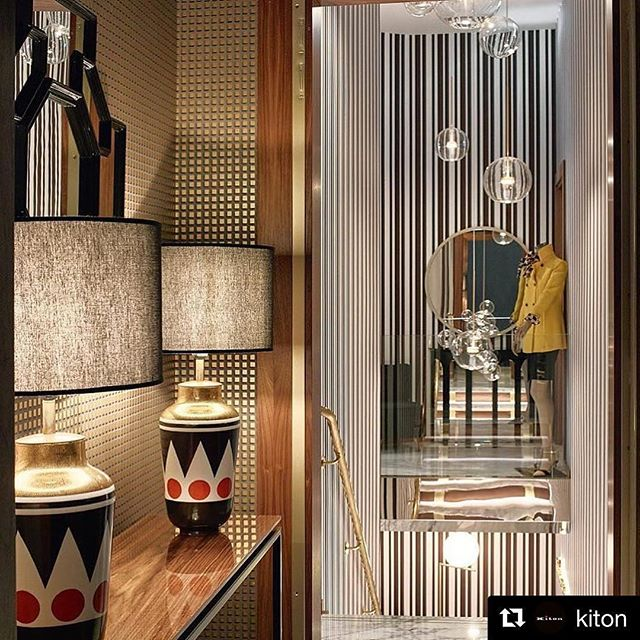Bolle in Kiton Munich @fdfdesign ・・・ Our first work for Kiton. More coming soon. @kiton ・・・ We cordially invite you to discover Casa Kiton around the world: live a personal experience of elegance and uniqueness. - -