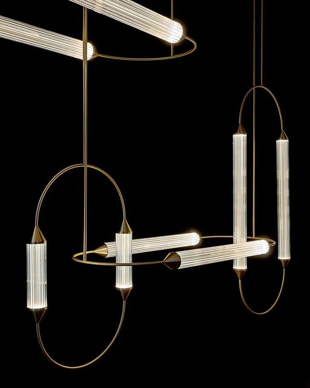 Giopato Coombes Lighting Landscape With CIRQUE Magnificent Lighting In Interior Design Collection