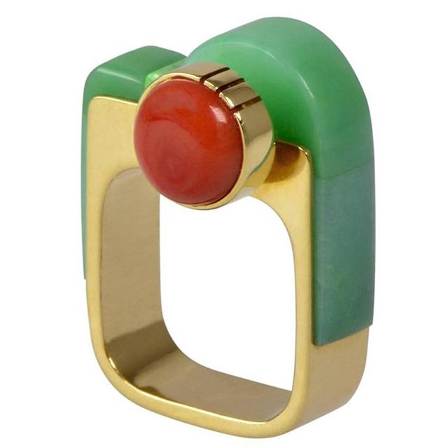 Modernist Ring by Richard Chavez