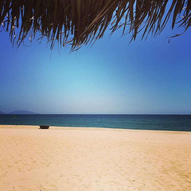 What else?? A bit of relax in Ha My beach  before continuing the adventure in the Mekong delta.