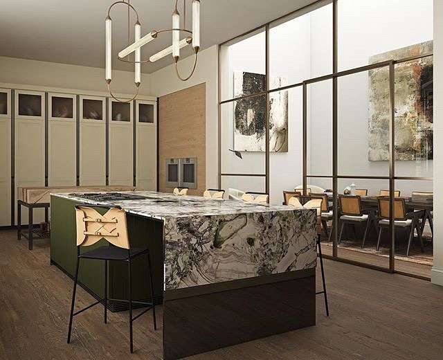 Giopato Coombes This Stunning Project Designed By The Talented Arteim Studio Is Both A Kitchen And A Quiet Workspace During The Day Our Cirque Light It Up Giopatocoombes
