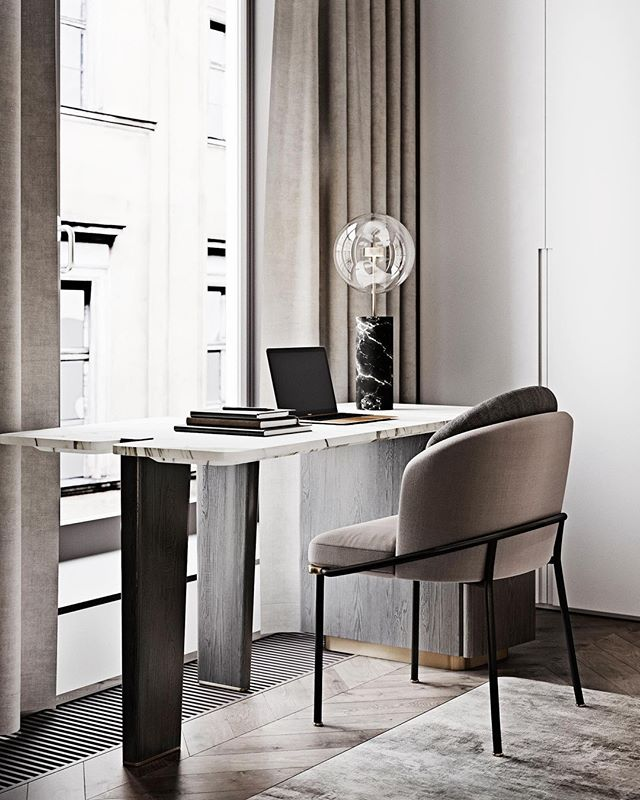 Perfect Home Office atmosphere with a Soffio lamp table.⠀⠀⠀⠀⠀⠀⠀⠀⠀ Image of @mart_da.spb⠀⠀⠀⠀⠀⠀⠀⠀⠀ .⠀⠀⠀⠀⠀⠀⠀⠀⠀ .⠀⠀⠀⠀⠀⠀⠀⠀⠀ .⠀⠀⠀⠀⠀⠀⠀⠀⠀